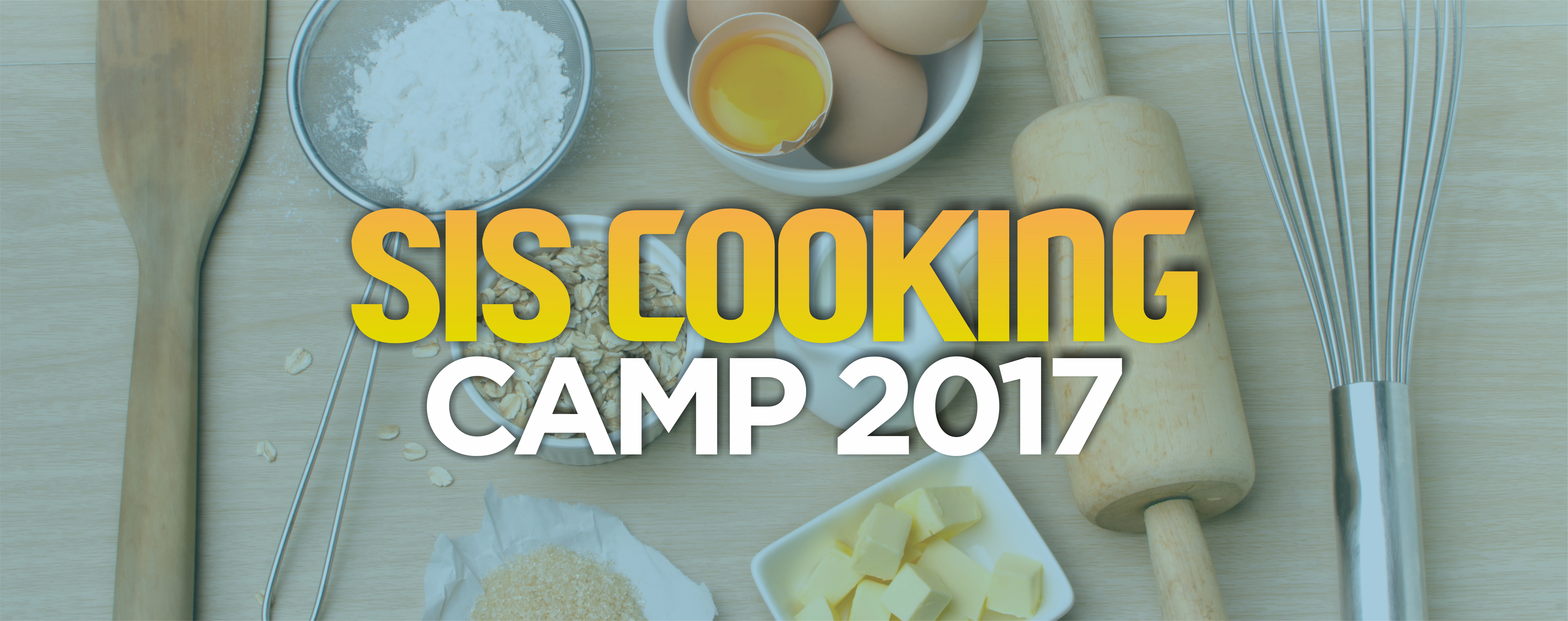 SIS Cooking Camp