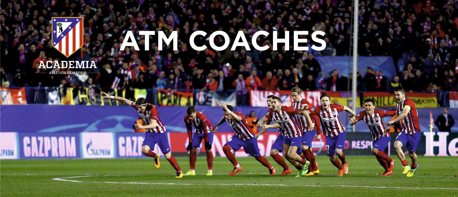 Atlético de Madrid Football Camp - ATM Coaches